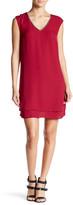 Daniel Rainn Sleeveless Embellished Neck Dress