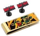 Cufflinks Inc. Cufflinks, Inc. 'Vintage Batman' Cuff Links & Money Clip Set