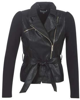Morgan GLAM women's Jacket in Black