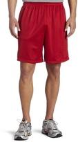 Soffe Men's Nylon Mini-Mesh Fitness Short