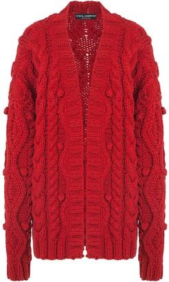 Dolce & Gabbana Cable-Knit Cardigan