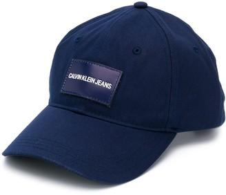 CK Calvin Klein Logo Patch Baseball Cap
