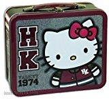 Hello Kitty Varsity Metal Tin Lunch Box Loungefly Sanrio