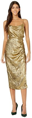 ASTR the Label Alchemy Dress (Brushed Gold) Women's Clothing