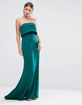 Jarlo Double Layer Strapless Dress
