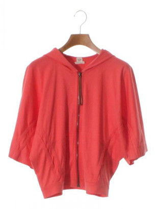 Hermes Red Cotton Knitwear