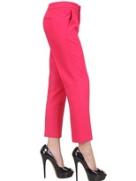 MSGM Viscose Crepe Trousers