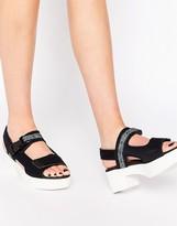 Miista Llona Strap Leather Heeled Sandals