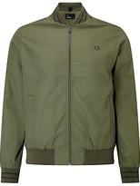 Fred Perry Tramline Bomber Jacket, Olive