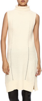 Freeway Sleeveless Cream Knit Top