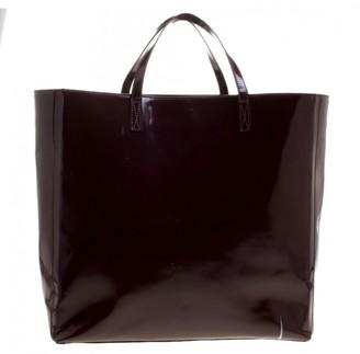 Anya Hindmarch Burgundy Patent leather Handbags