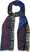 Etro Printed cotton-blend scarf