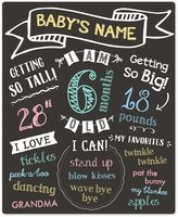 Pearhead Baby's Monthly Chalkboard