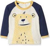 Pumpkin Patch Baby Boys 0-24m Bear Face Tee Polo Shirt