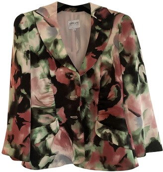 Armani Collezioni Pink Silk Jacket for Women