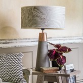 Graham and Green Conical Metal And Concrete Lamp