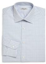 Charvet Regular-Fit Check Cotton Dress Shirt