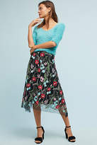 Eva Franco Poppy Embroidered Skirt