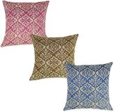Bed Bath & Beyond Ikat Embroidered Square Throw Pillow