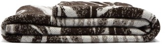 Saved Ny - Marble Sepia Cashmere And Yak-blend Blanket - Grey Multi