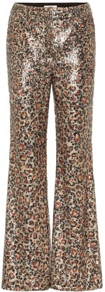 Playful Wildness sequined pants