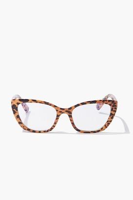 Forever 21 Leopard Print Reader Glasses