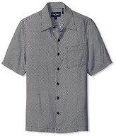 Nat Nast Men's Geo Print Short Sleeve Shirt