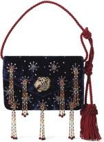 Gucci GucciCrystal Embellished Velvet Evening Bag