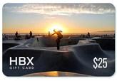 HBX Gift Card $25