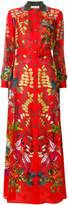 Etro floral belted dress