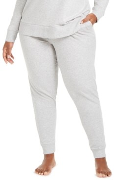 Calvin Klein One Plus Size French Terry Jogger Lounge Pants