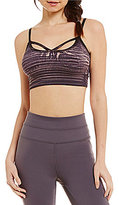 Free People Washed Barely There Sports Bra