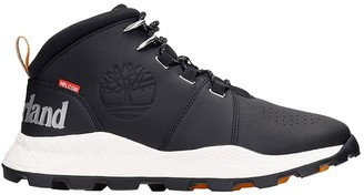 Timberland Sneakers In Black Synthetic Fibers