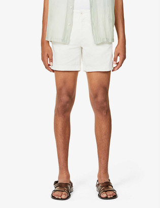 Orlebar Brown Bulldog cotton and linen-blend shorts