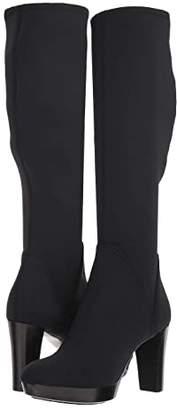 Donald J Pliner Echoe 2 (Black Crepe Elastic) Women's Dress Boots