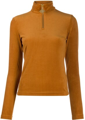 Han Kjobenhavn Zip-Up Ribbed Jumper