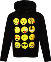 Generic KIDS EMOJI EMOTICONS SMILEY FACES LONG SLEEVE HOODIES TOPS GIRLS AGE NEW 9-13 YEARS