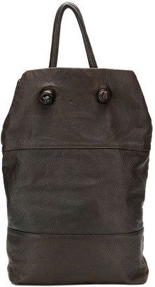 Gianfranco Ferre Pre-Owned 1990's segmented tote bag