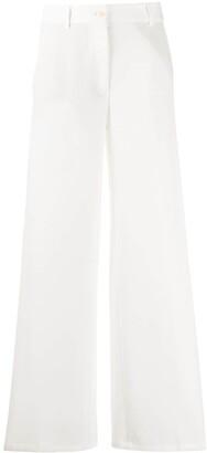 Brag-wette Wide Leg Trousers