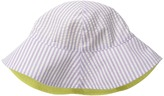 San Diego Hat Company Kids CTK3422 Reversible Seersucker Bucket w/ Chin Strap (Infant)