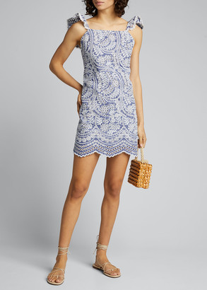Alice + Olivia Honor Flutter Tunic Dress