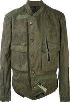 Tom Rebl - lightweight jacket - men - Cotton/Linen/Flax/Spandex/Elastane - 52