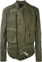 Tom Rebl lightweight jacket - men - Cotton/Spandex/Elastane/Linen/Flax - 48
