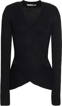 Roberto Cavalli Cutout Wool-blend Sweater