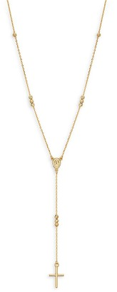 Saks Fifth Avenue Made In Italy 14K Yellow Gold Rosary Necklace