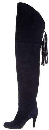 Chloé Round-Toe Over-The-Knee Boots