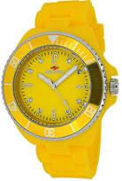 Seapro Sea Bubble Womens Yellow Silicone Strap Watch Family
