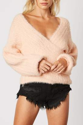 Runway & Rose Cross-Over Sherbert Sweater