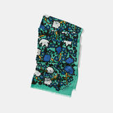 Coach Yankee Floral Oblong Scarf