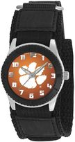 Game Time Rookie Series Clemson Tigers Silver Tone Watch - COL-ROB-CLE - Kids